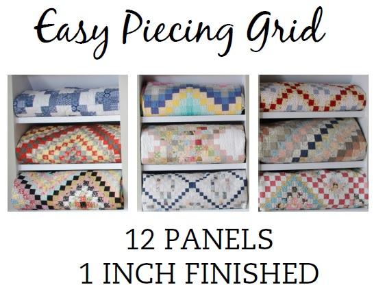 12 Panel 1 Inch Pre-Cut