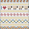 """2"""" Row Quilt for Border Panels"""