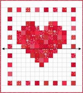 Scrappy Heart with Border