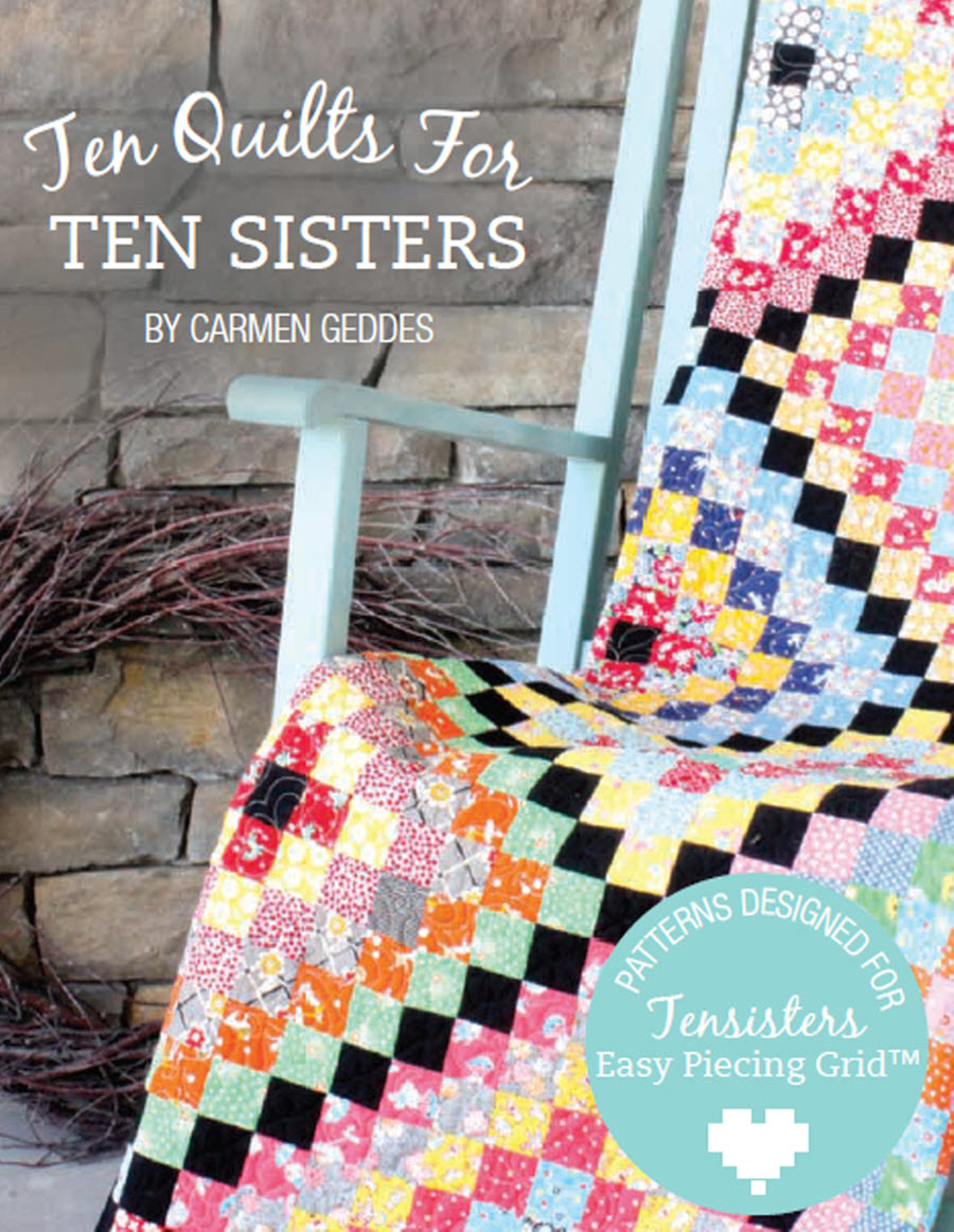 Ten Quilts for Ten Sisters Corrections