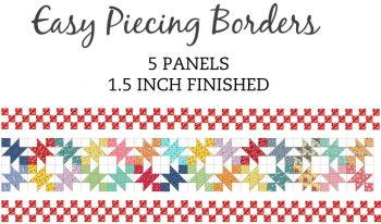 5 Panel 1.5 Inch Border Pre-Cut