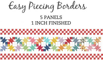 5 Panel 1 Inch Border Pre-Cut