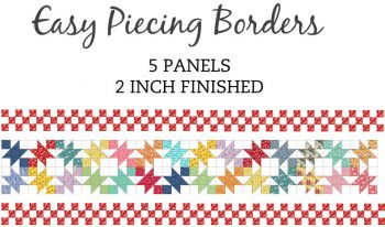 5 Panel 2 Inch Border Pre-Cut