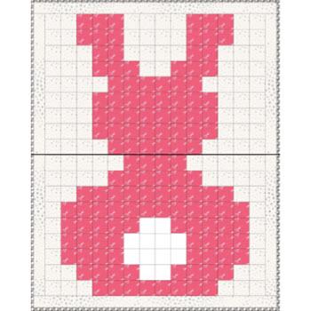 Pixel Piecing Bunny