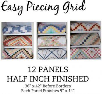 12 Panel HALF Inch Pre-Cut