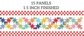 15 Panel 1.5 Inch Border Pre-Cut